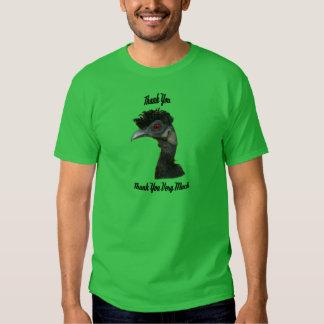 Oiseau d'Elvis - Merci (texte noir) T-shirt