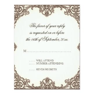 Oiseau des magnolias n du paradis - carte de carton d'invitation 10,79 cm x 13,97 cm