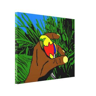 Oiseau d'Or Toile