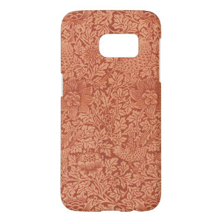 Oiseau et anémone par William Morris, nature Coque Samsung Galaxy S7