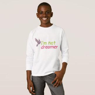 oiseau je ne suis pas chemise de rêveur t-shirt