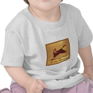OISEAU : La haute montante est ma nature T-shirt