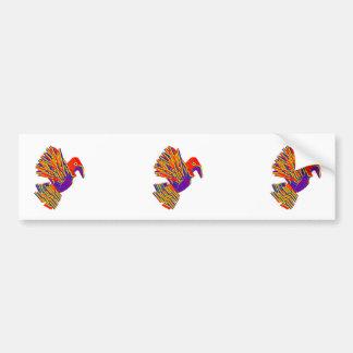 Oiseau MIGNON de Kabootar   - cadeaux artistiques  Autocollants Pour Voiture