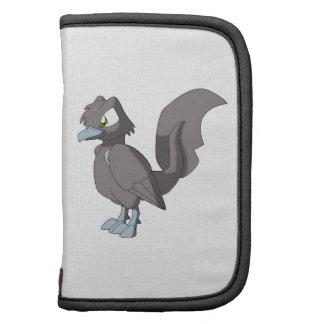 Oiseau reptile de Koi - gris de Taupe Agendas Folio