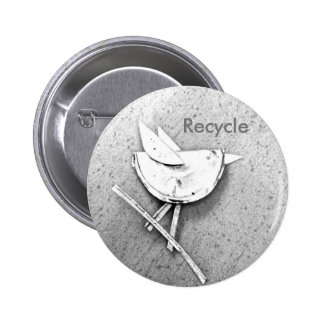 Oiseau réutilisé pin's