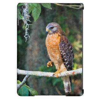 Oiseau Rouge-Épaulé de faucon Coque iPad Air