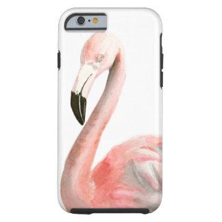 Oiseau tropical de flamant coque tough iPhone 6