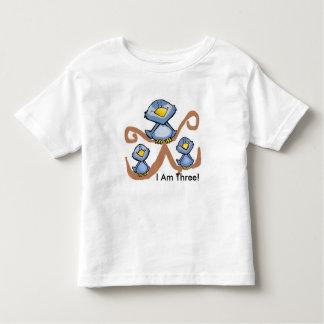 Oiseaux d'anniversaire t-shirt pour les tous petits