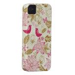 oiseaux dans le cas de l'iphone 4/4s d'amour à pei coques iPhone 4