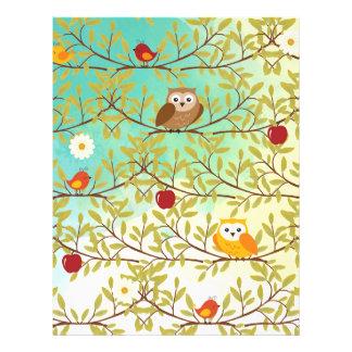 Oiseaux d'automne prospectus 21,6 cm x 24,94 cm