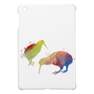 Oiseaux de kiwi étuis iPad mini