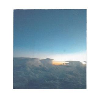 oiseaux de nuage blocs notes