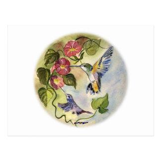 Oiseaux de ronflement carte postale