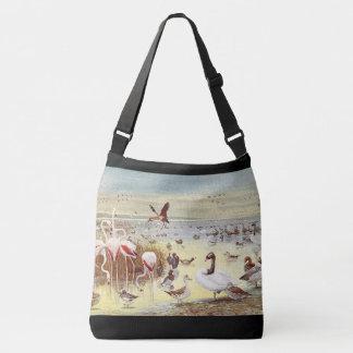 Oiseaux de sac fourre-tout à épaule de faune de