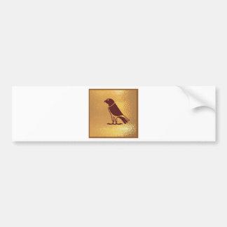 Oiseaux de TUEUR Autocollant Pour Voiture