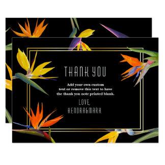 Oiseaux du paradis, cartes florales de Merci