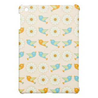 Oiseaux et marguerites coque pour iPad mini