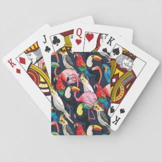 Oiseaux exotiques jeu de cartes