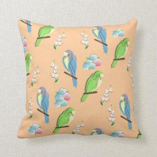oiseaux exotiques coussins. Black Bedroom Furniture Sets. Home Design Ideas