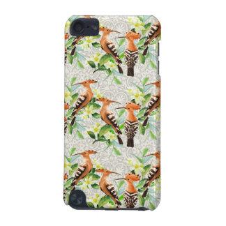 Oiseaux exotiques sur la dentelle coque iPod touch 5G