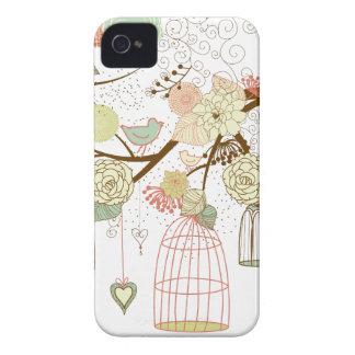 oiseaux mignons coques Case-Mate iPhone 4