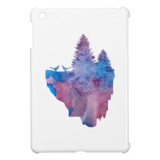 Oiseaux sur une île de flottement coques pour iPad mini