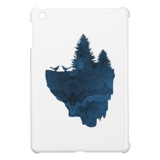 Oiseaux sur une île de flottement étui iPad mini