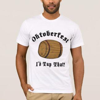 Oktoberfest drôle je taperais ce T-shirt