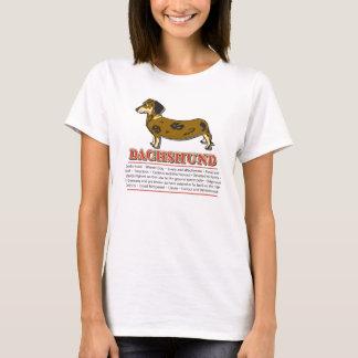 Oktoberfest/teckel T-shirt