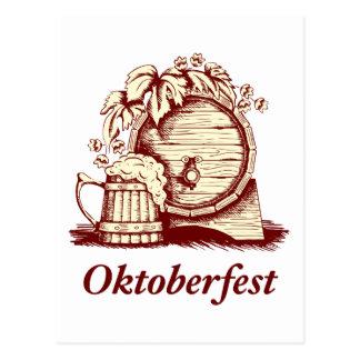 Oktoberfest vintage carte postale