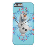 Olaf avec le cadre de coeur coque iPhone 6 barely there