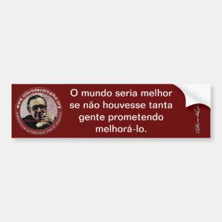 Olavettes - Produits Olavo de Carvalho Autocollant Pour Voiture
