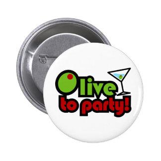 Olive à la partie ! badges