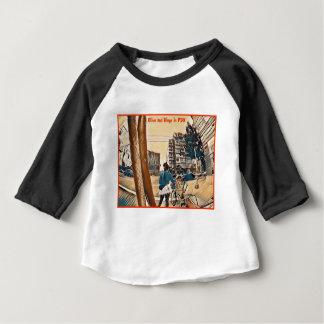 Olive et dingo dans PDX T-shirt Pour Bébé