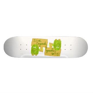 Olive I vivant organiquement Skateboards Personnalisés