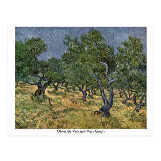 Olive par Vincent van Gogh Carte Postale