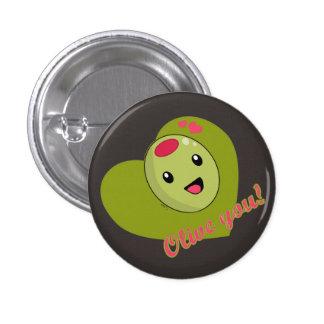 Olive que vous vous boutonnez badges