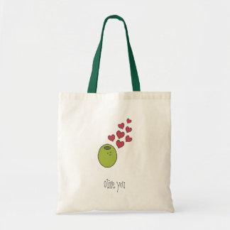 """""""Olive vous"""" sac fourre-tout"""