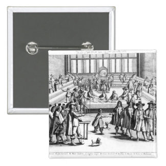 Oliver Cromwell dissolvant le Parlement Pin's