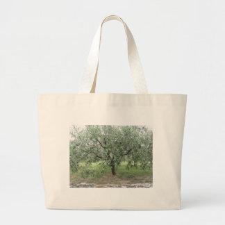 Olivier dans le jardin. La Toscane, Italie Grand Tote Bag