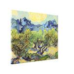 Oliviers de Van Gogh, beaux-arts vintages Impressions Sur Toile
