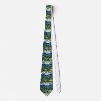 Oliviers par le cravate de Van Gogh