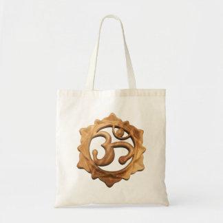 OM avec dans un sac fourre-tout à fleur de Lotus