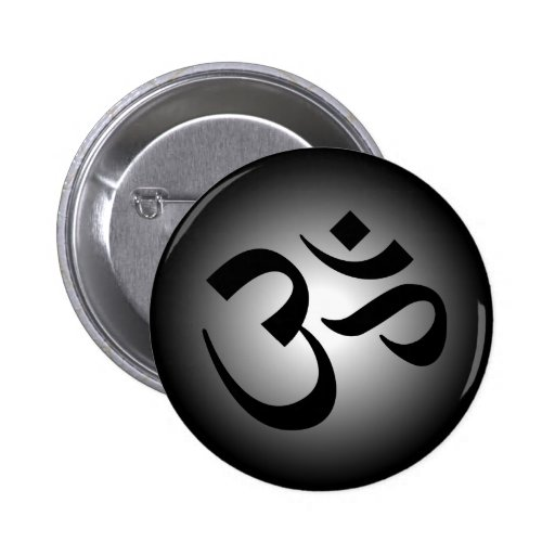 OM indou - symbole de méditation Badge