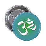 OM indou - symbole de méditation Badges Avec Agrafe