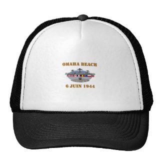 Omaha Beach 1944 Casquette Trucker