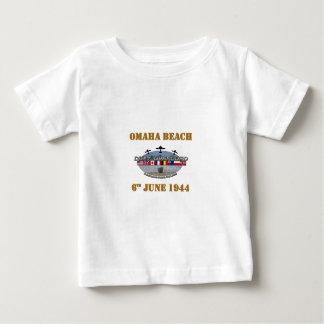Omaha Beach 6th June 1944 T-shirt Pour Bébé