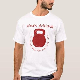 Omaha Kettlebell sur le blanc T-shirt