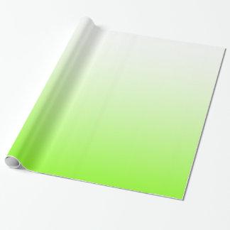 Ombre blanc Chartreuse Papiers Cadeaux
