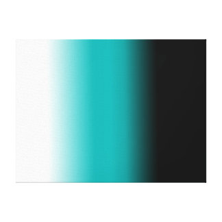 Ombre blanc turquoise noir toiles